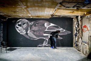 Vihls street art galerie les bains