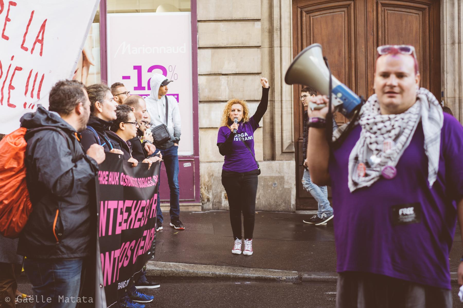Existrans 2017 à Paris : 21ème marche des personnes trans et intersexes