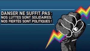 Bannière de la Pride de Nuit 2017