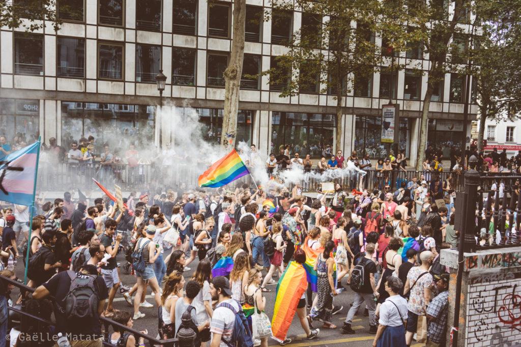 Pride 2018 : cortège de tête
