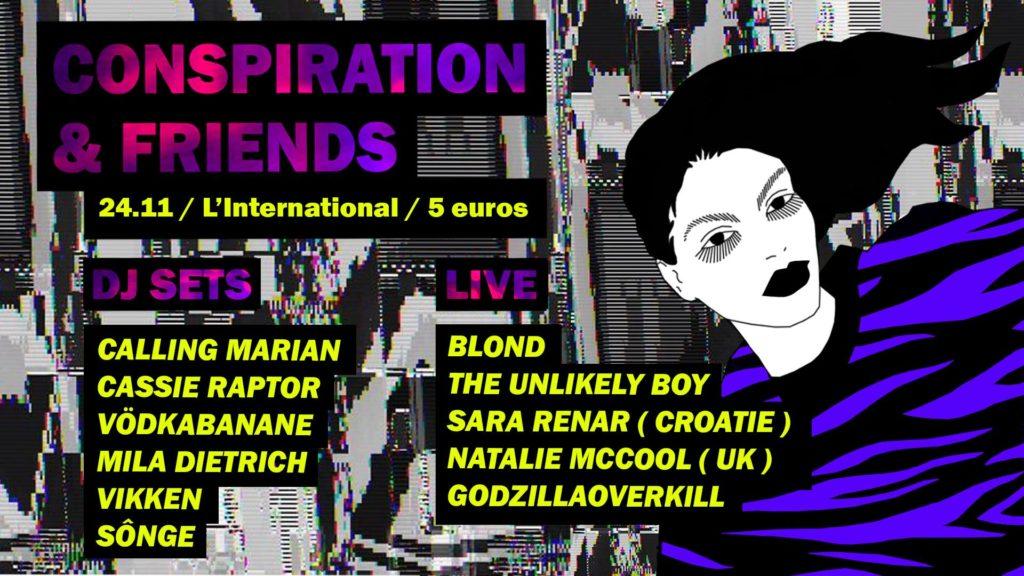 Conspiration DJ soirée lesbienne Paris