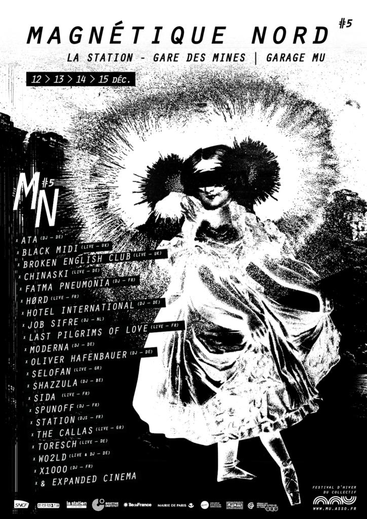 Magnétique Nord - Festival à la Station Gare des Mines par le Collectif MU
