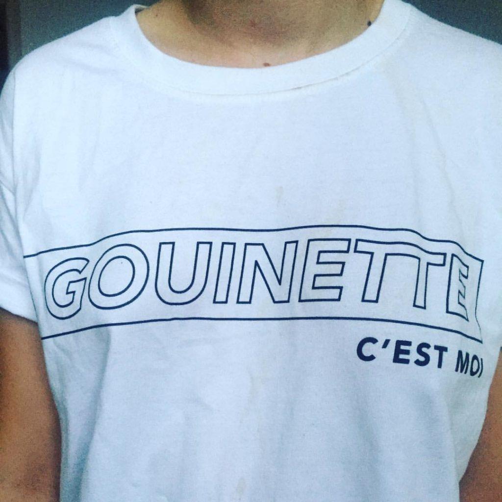gouinette parle trop tshirt : gouinette c'est moi