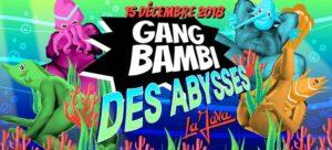 Gang Bambi des abysses soirée queer à la Java