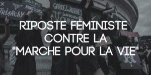 Witch bloc : riposte féministe contre la marche pour la vie