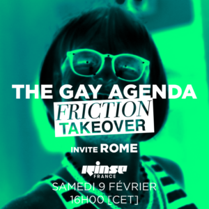 The gay agenda : Take over radio par Friction Magazine