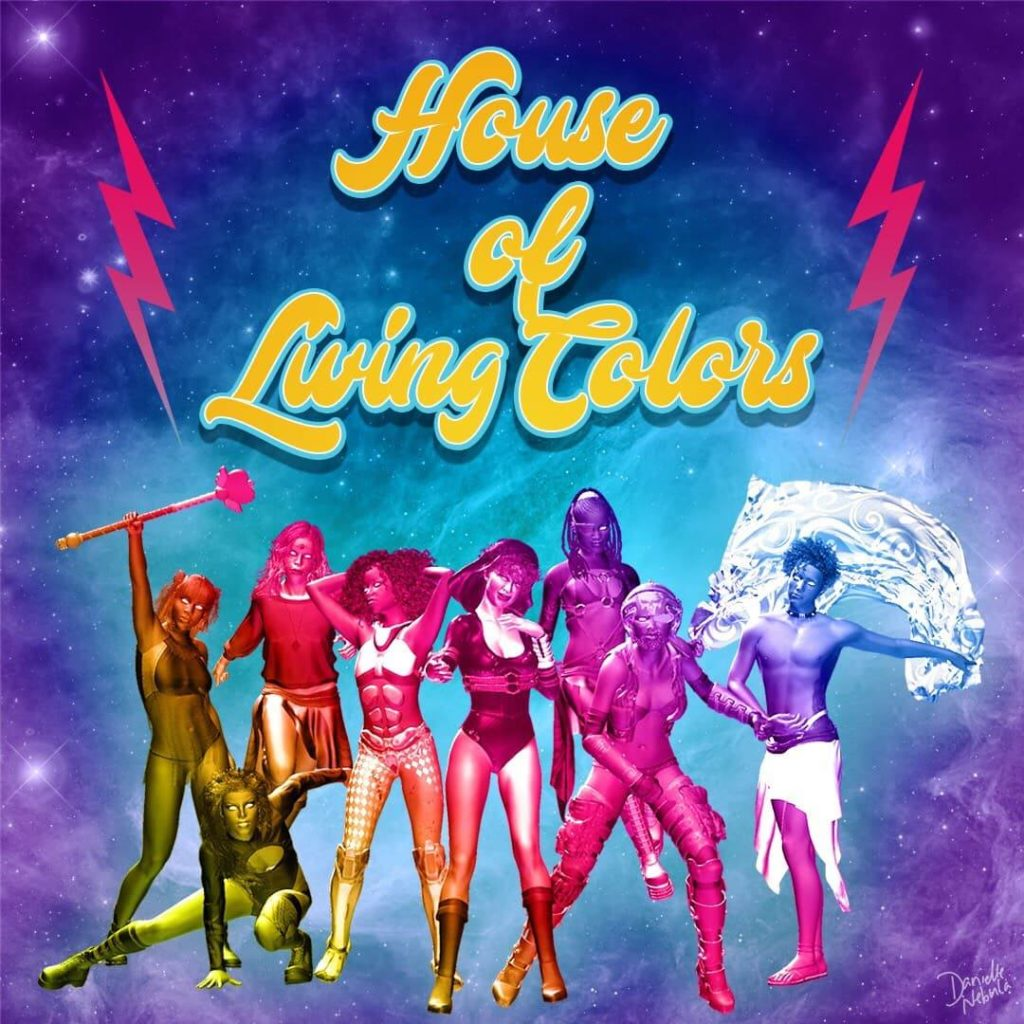 house of living colors de Berlin : drag queer culture