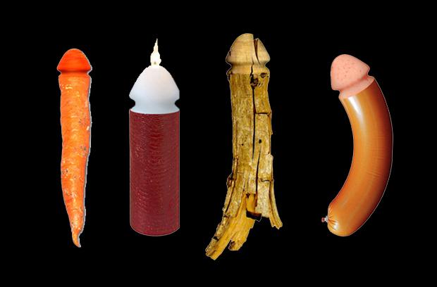 Objet pour tailler des objets en forme de pénis, Dildo Maker, Francesco Morackini.