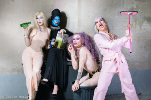 Fugly drag queen photographiées par Gaëlle Matata