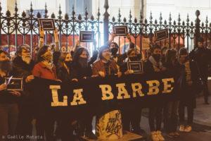 La Barbe - Action du 25 avril 2019 au cirque d'hiver