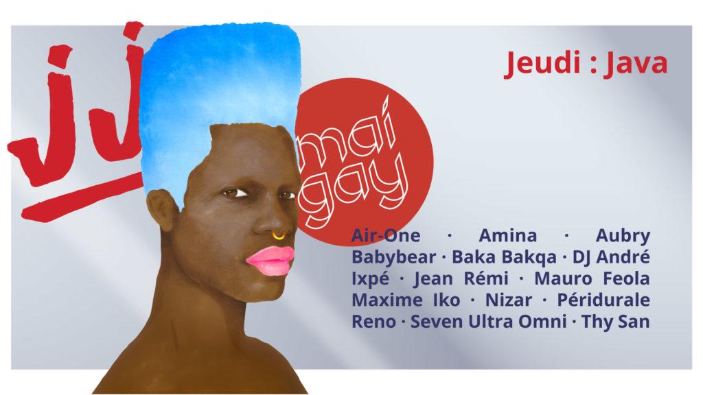 Friction Magazine Mai Gay Jeudi Java Crame Babybear Péridurale DJ