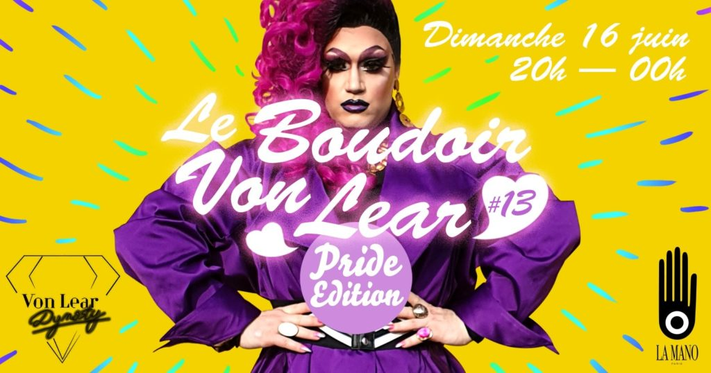 Boudoir Von Lear drag queens Friction Magazine