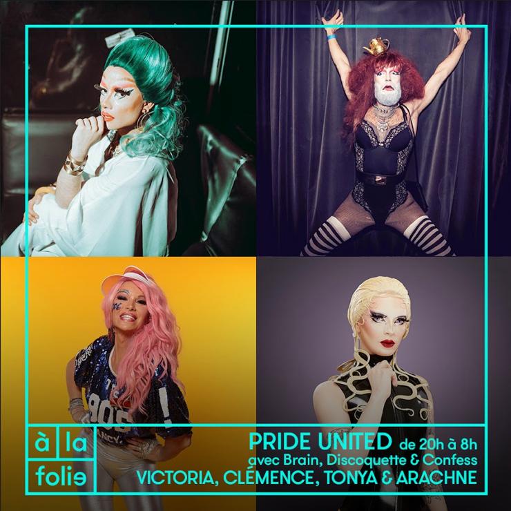 Friction Magazine Pride Marche des Fiertés Discoquette drag queen queer