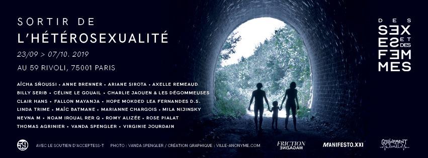 """Sortir de l'hétérosexualité, festival féministe à Paris organisé par """"Des sexes et des Femmes""""  par juliet drouar"""
