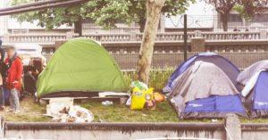 Soutien aux migrants porte d'aubervilliers à La Station gare des Mines - Collectif Mu