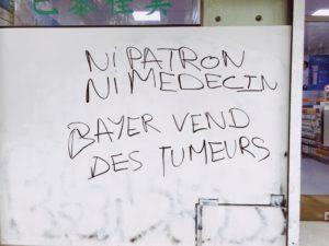 ni patron ni médecin : bayer vend des tumeurs - existransinter 2019 - Friction Magazine trans