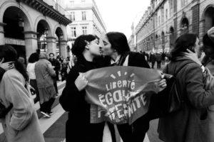 Action pro PMA lors de LMPT en janvier 2020 - Photo @ladameennoir Clara Dalmasso