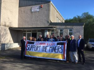 Lesbians and gay support the miners