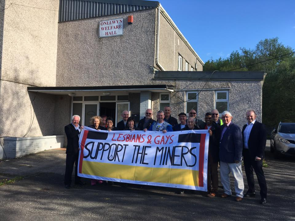 Jonathan Blake, de Lesbians and Gays Support the Miners - Friction Magazine