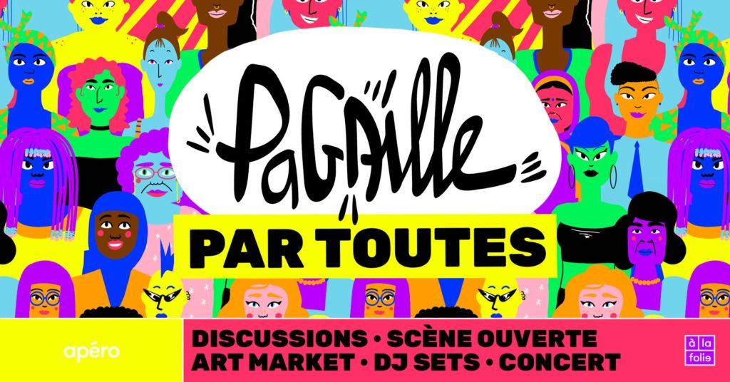 Friction Magazine queer Pagaille pour toutes à la folie