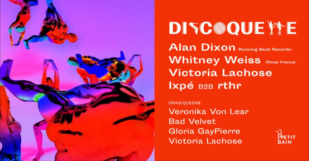 Friction Magazine Discoquette Petit Bain Victoria Lachose queer