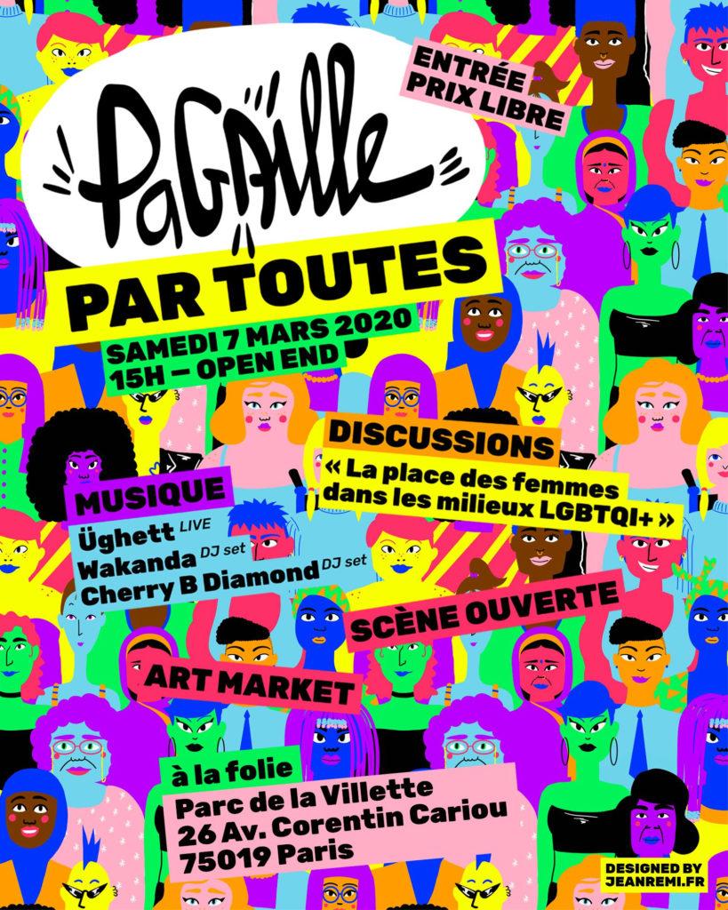 Friction Magazine Pagaille par toutes à la folie 7 mars