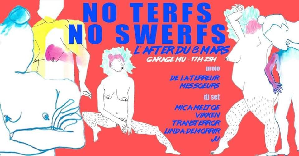 Soirée après la marche 8 mars 2020 : no terfs no swerfs - Friction Magazine