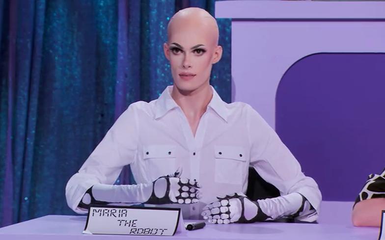 maria the robot s'est rasé le ciboulot