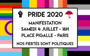 Pride 2020 sera politique