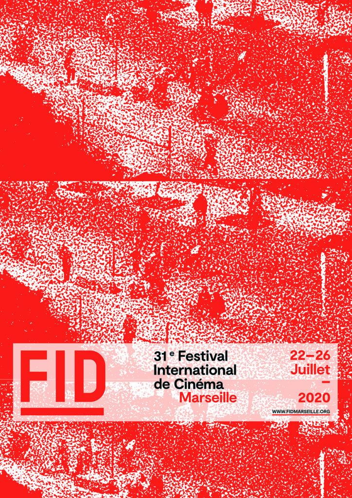L'affiche du FIDMarseille 2020 : estival internation de cinéma de marseille