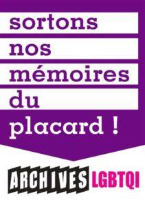 Sortons nos mémoires LGBTQI du placard avec les archives LGBTQI