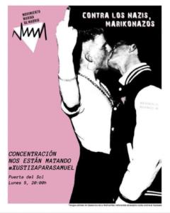 Contra los nazis marikonas - meurtre homophobe par des nazis en espagne - collectif pédés